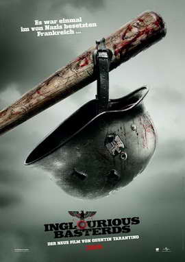 Inglourious Basterds - 27 x 40 Movie Poster - German Style A