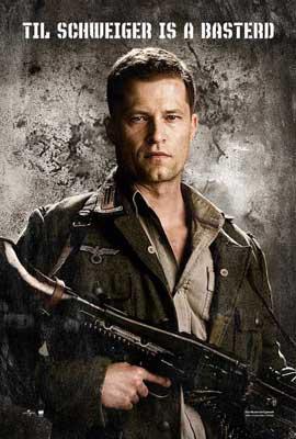 Inglourious Basterds - 11 x 17 Movie Poster - Style G