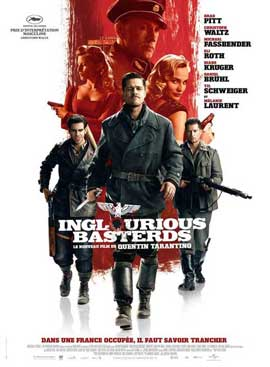 Inglourious Basterds - 11 x 17 Movie Poster - French Style B