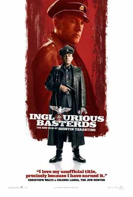 Inglourious Basterds - 27 x 40 Movie Poster - Style J