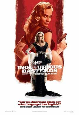 Inglourious Basterds - 27 x 40 Movie Poster - Style K