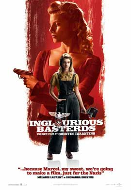Inglourious Basterds - 11 x 17 Movie Poster - Style Q
