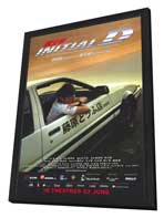 Initial D - 27 x 40 Movie Poster - Style B - in Deluxe Wood Frame