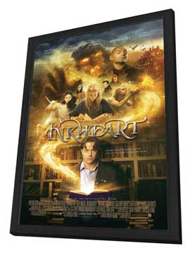 Inkheart - 27 x 40 Movie Poster - Style A - in Deluxe Wood Frame