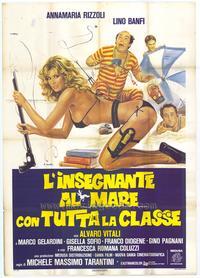 Insegnante al mare con tutta la classe, L' - 11 x 17 Movie Poster - Italian Style A