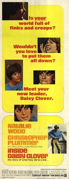 Inside Daisy Clover - 14 x 36 Movie Poster - Insert Style A