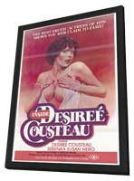 Inside Desiree Cousteau - 11 x 17 Movie Poster - Style A - in Deluxe Wood Frame