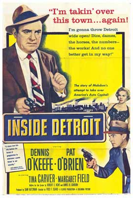 Inside Detroit - 27 x 40 Movie Poster - Style A