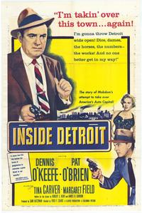 Inside Detroit - 43 x 62 Movie Poster - Bus Shelter Style A