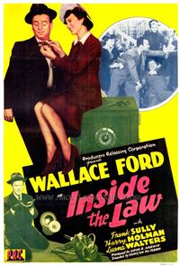 Inside the Law - 43 x 62 Movie Poster - Bus Shelter Style A