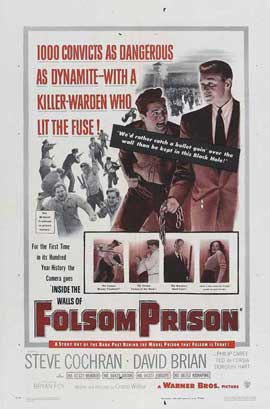 Inside the Walls of Folsom Prison - 27 x 40 Movie Poster - Style A