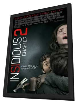 Insidious Chapter 2 - 11 x 17 Movie Poster - Style A - in Deluxe Wood Frame