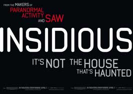 Insidious - 30 x 40 Movie Poster - Style A