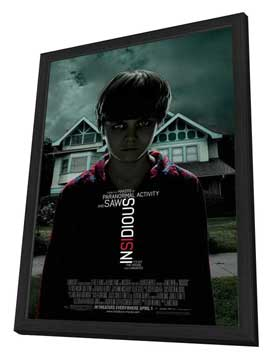 Insidious - 27 x 40 Movie Poster - Style A - in Deluxe Wood Frame