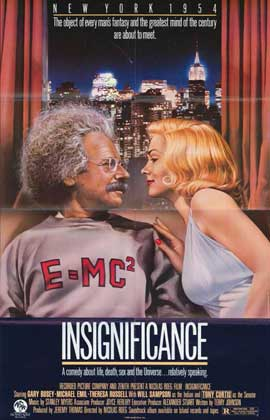 Insignificance - 11 x 17 Movie Poster - Style A