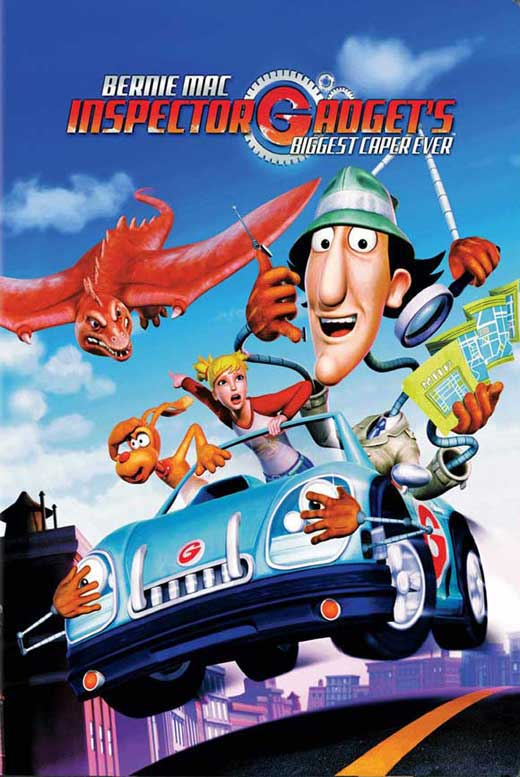 Inspector Gadget's Biggest Caper Ever Movie Posters From