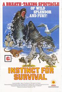 Instinct for Survival - 27 x 40 Movie Poster - Style A