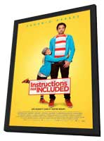 Instructions Not Included - 11 x 17 Movie Poster - Style A - in Deluxe Wood Frame