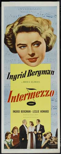 Intermezzo: A Love Story - 14 x 36 Movie Poster - Insert Style A