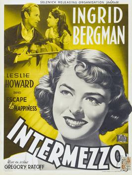 Intermezzo: A Love Story - 27 x 40 Movie Poster - Style B