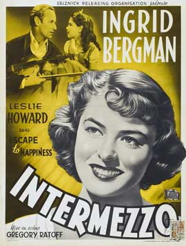 Intermezzo: A Love Story - 11 x 17 Movie Poster - Belgian Style A