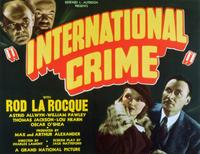 International Crime - 11 x 14 Movie Poster - Style A
