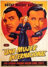 International Lady - 11 x 17 Movie Poster - Spanish Style A