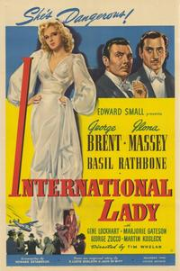 International Lady - 11 x 17 Movie Poster - Style A