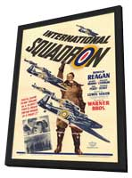 International Squadron - 11 x 17 Movie Poster - Style A - in Deluxe Wood Frame
