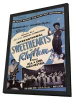 International Sweethearts of Rhythm - 11 x 17 Movie Poster - Style A - in Deluxe Wood Frame