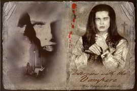 Interview with the Vampire - 27 x 40 Movie Poster - Russian Style A