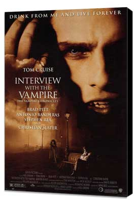 Interview with the Vampire - 11 x 17 Movie Poster - Style A - Museum Wrapped Canvas
