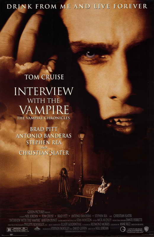 interview with the vampire movie posters from movie poster