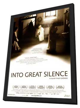 Into Great Silence - 11 x 17 Movie Poster - Style A - in Deluxe Wood Frame