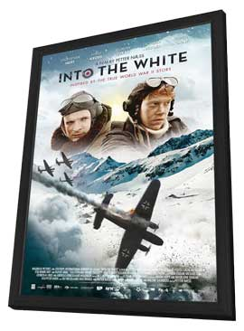 Into the White - 27 x 40 Movie Poster - Style A - in Deluxe Wood Frame