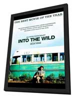 Into The Wild - 11 x 17 Movie Poster - Style C - in Deluxe Wood Frame