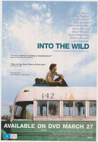 Into The Wild - 43 x 62 Movie Poster - Bus Shelter Style B
