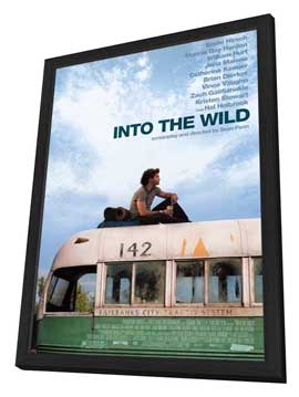 Into The Wild - 11 x 17 Movie Poster - Style A - in Deluxe Wood Frame