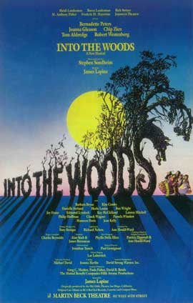 Into the Woods (Broadway) - 14 x 22 Poster - Style A