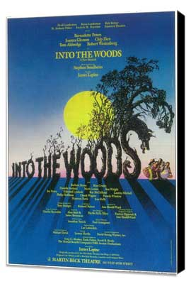 Into the Woods (Broadway) - 11 x 17 Poster - Style A - Museum Wrapped Canvas
