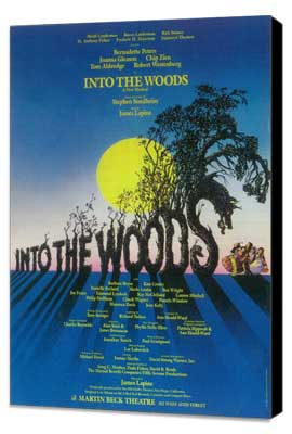 Into the Woods (Broadway) - 14 x 22 Poster - Style A - Museum Wrapped Canvas