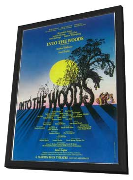 Into the Woods (Broadway) - 11 x 17 Poster - Style A - in Deluxe Wood Frame
