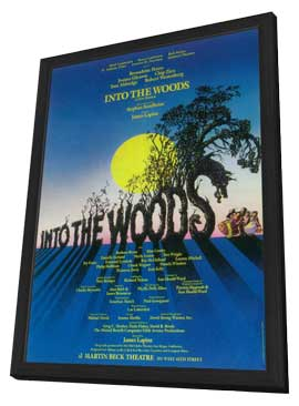 Into the Woods (Broadway) - 14 x 22 Poster - Style A - in Deluxe Wood Frame
