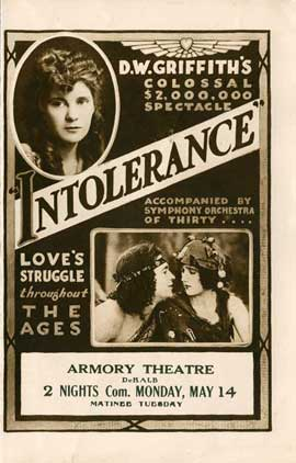 Intolerance: Love's Struggle Throughout the Ages - 11 x 17 Movie Poster - Style A