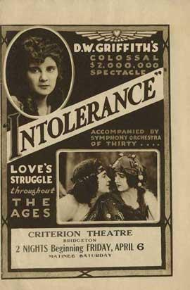 Intolerance - 11 x 17 Movie Poster - Style E