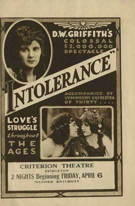 Intolerance - 27 x 40 Movie Poster - Style C