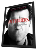 Intruders - 11 x 17 Movie Poster - Style A - in Deluxe Wood Frame