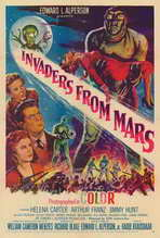 Invaders from Mars - 27 x 40 Movie Poster - Style A