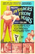 Invaders from Mars - 11 x 17 Movie Poster - Style B