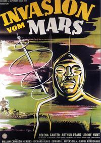 Invaders from Mars - 11 x 17 Movie Poster - German Style A